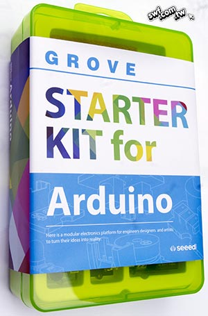 Seeed Grove Starter Kit for Arduino入門實驗套件